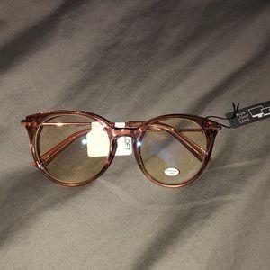 NWT blue light lens glasses
